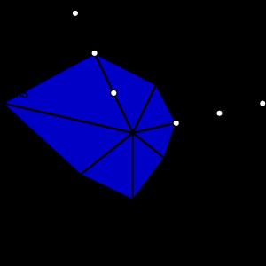 A dimension space plot showing Atau Tanaka's Global String.