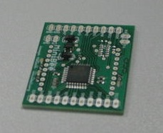 The MiniBee Rev.A circuit board
