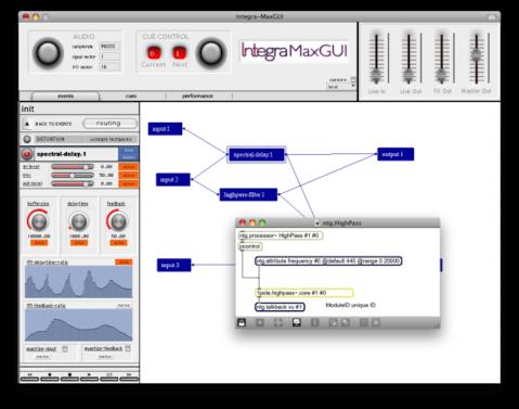 Integra Enviroment prototype by Joseph Malloch, Marlon Schumacher, Geof Holbrook, and Sean Ferguson.